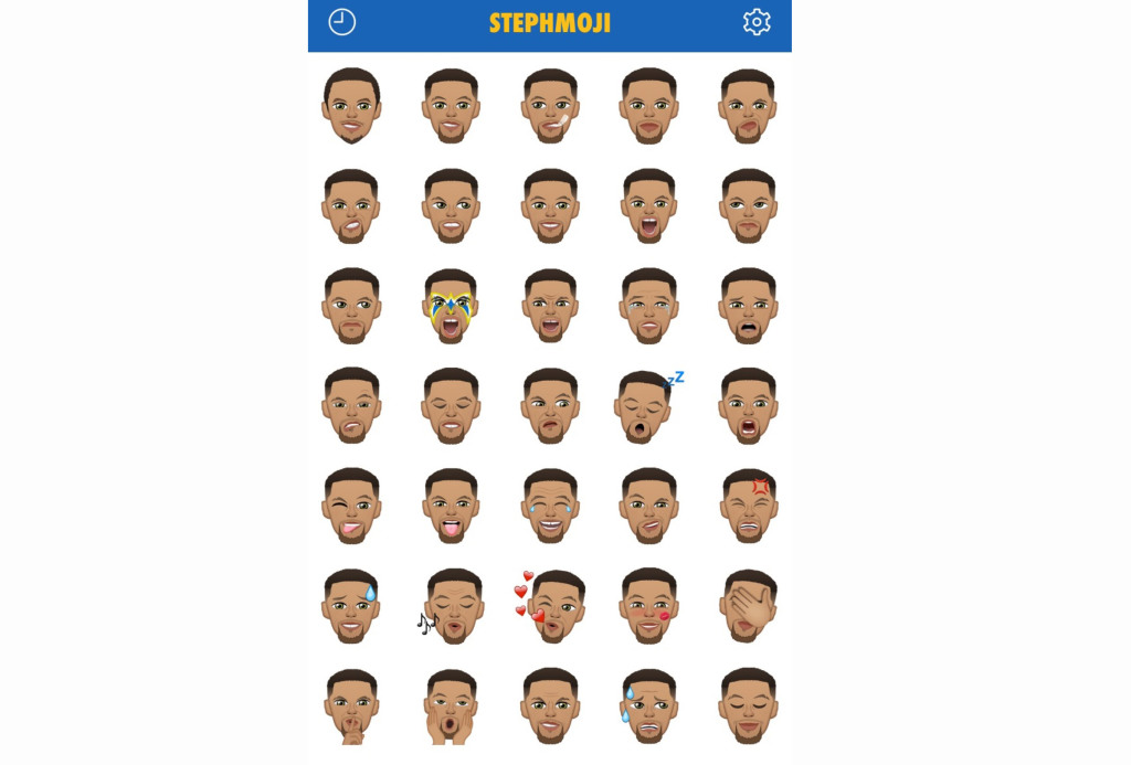 competitive price b60fa 0feed Stephen Curry s line of emojis went on sale yesterday afternoon for  1.99.  By this morning, it was the top-selling paid app on Apple, beating out Kim  ...