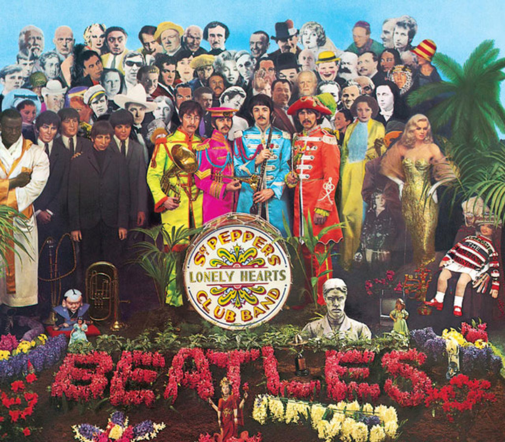 "You can now stream the new Beatles' ""Sgt  Pepper"" remix on"