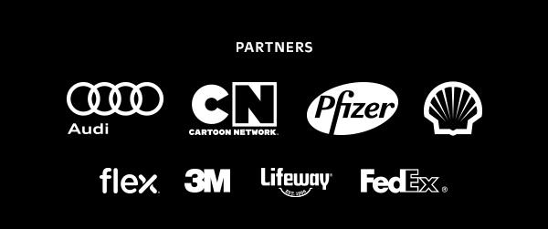 PARTNERS: Audi | Cartoon Network | 3M | flex