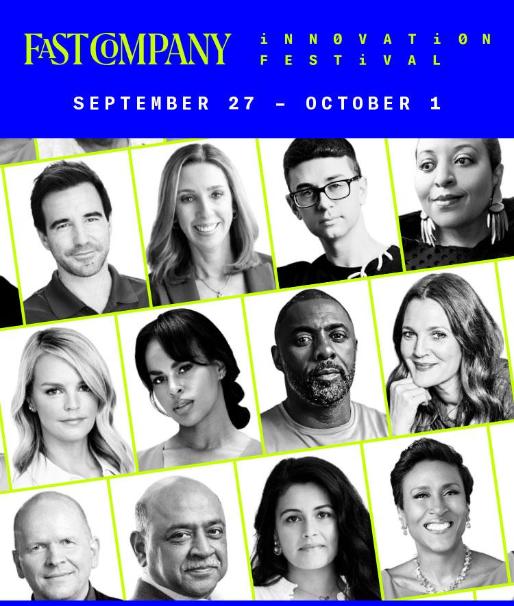 Fast Company Innovation Festival   September 27-30