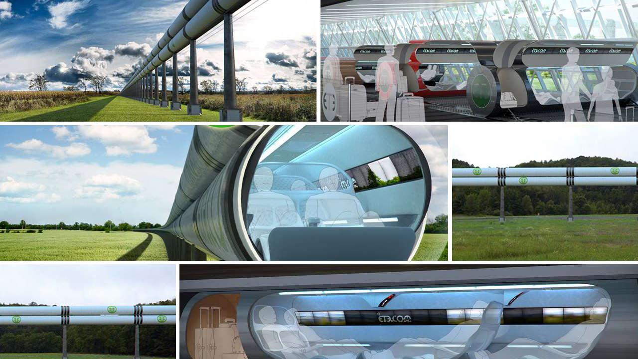 How much did this hyperloop lookalike inspire elon musk