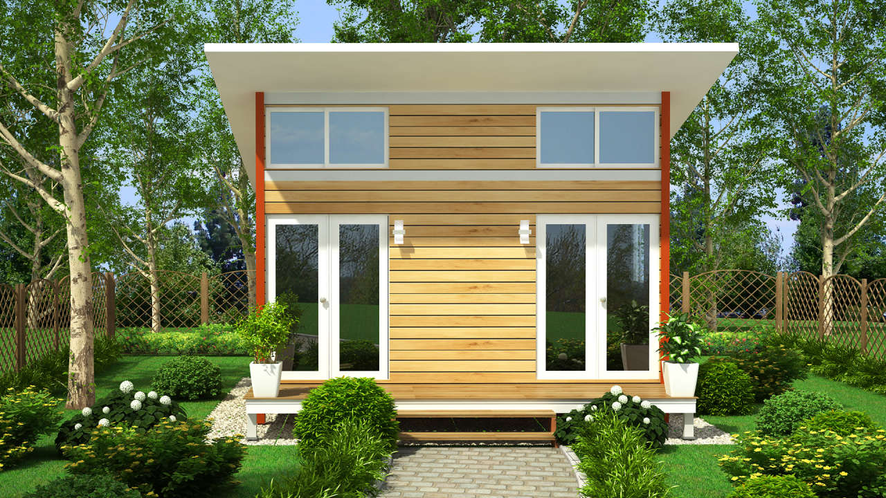 In Portland These Tiny Houses Will Bring The Homeless Off The