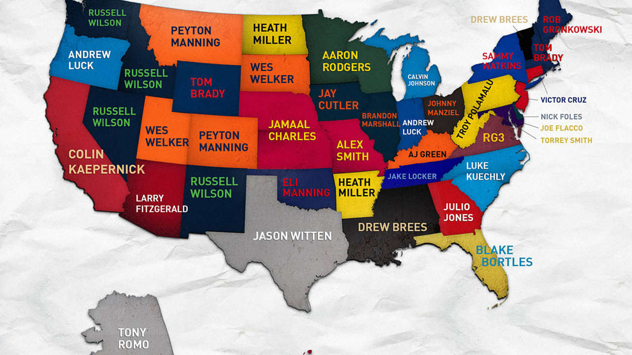 nfl fan map nfl top picks