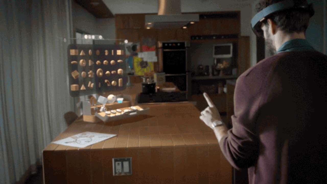 Hololens Microsoft S Sci Fi Glasses That Make You See