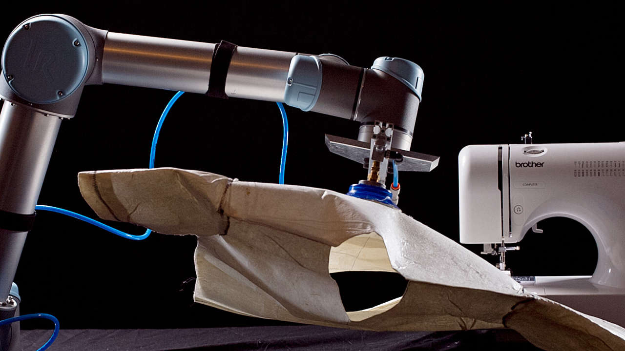 Is This Sewing Robot The Future Of Fashion