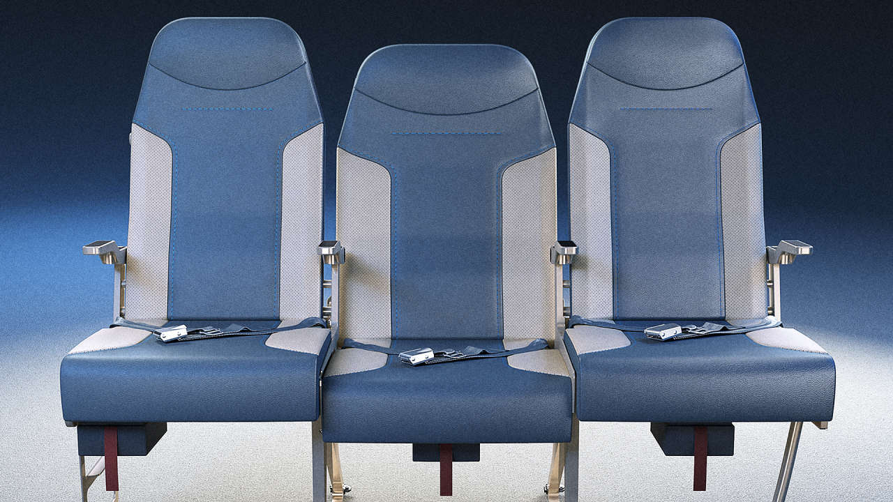 This Redesigned Airplane Row Will Make You Want The Middle ...
