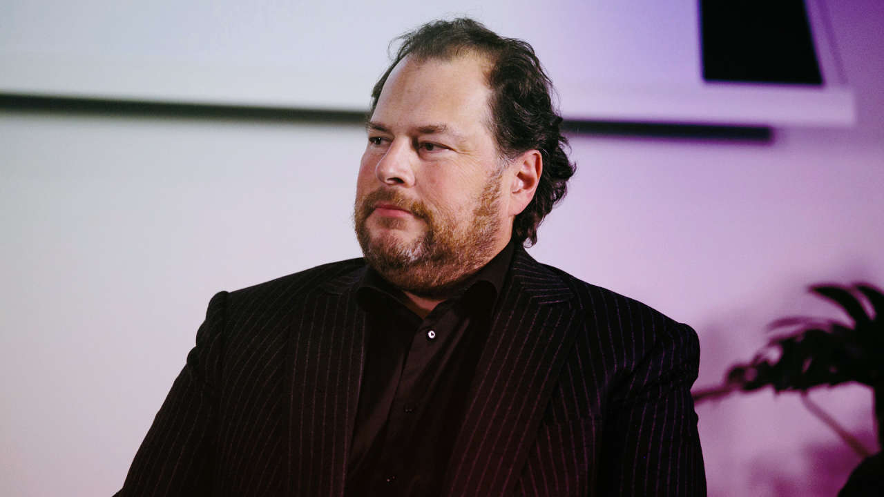 Salesforce's Marc Benioff On The Power Of Values