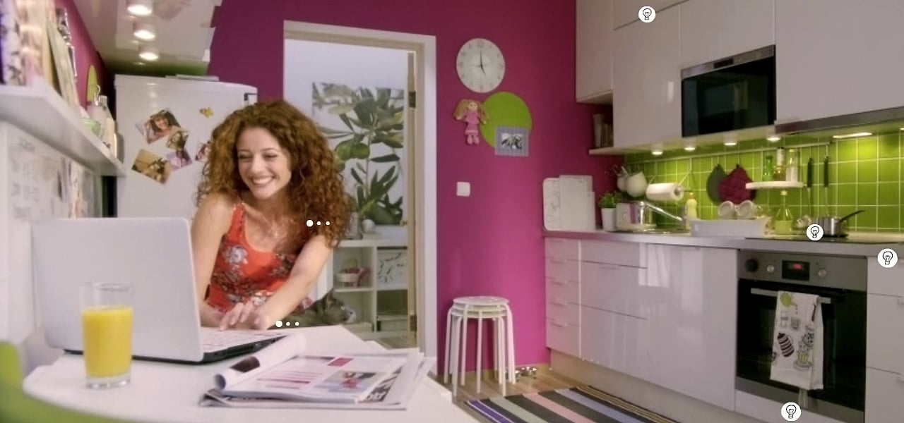 Ikea Caters To Kitchen Voyeurs With Interactive Peep Show