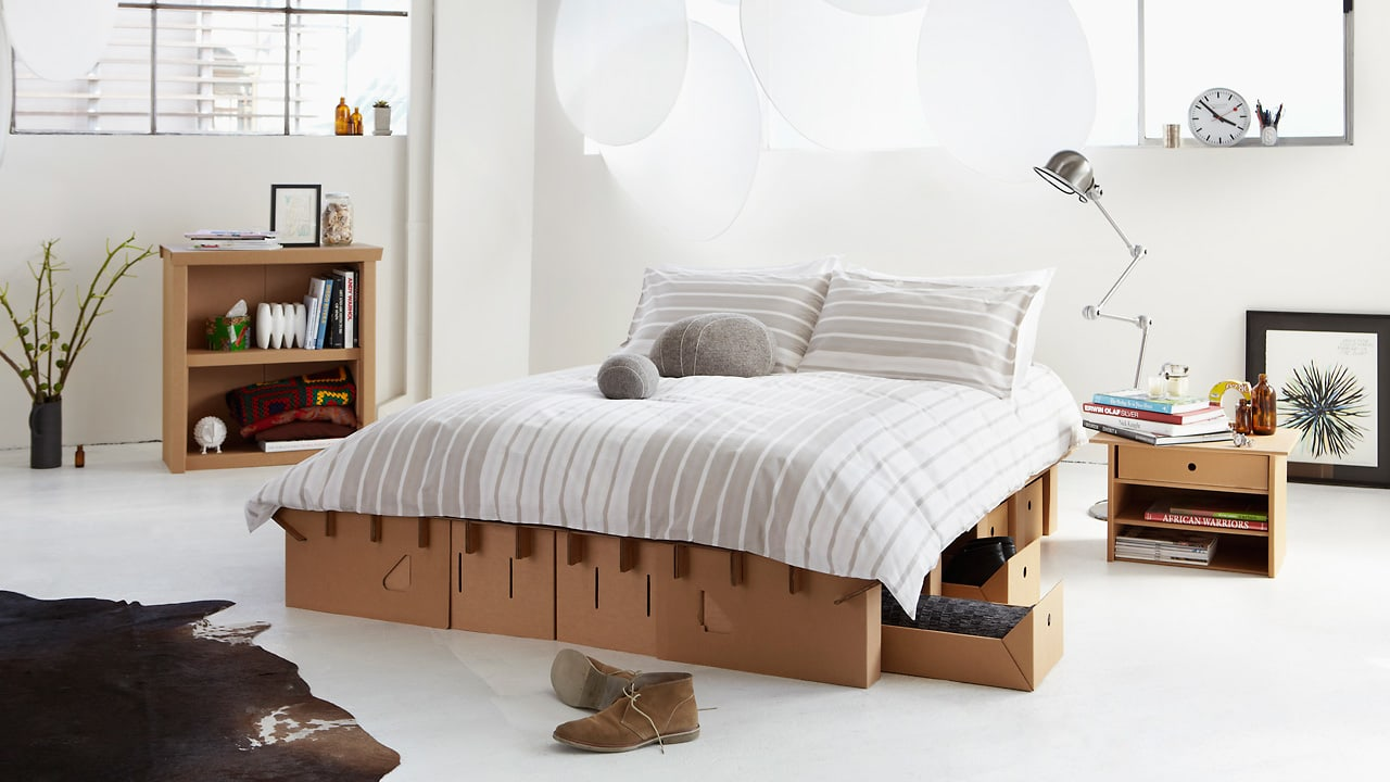 Video Proves It This Cardboard Bed Is Strong Enough To