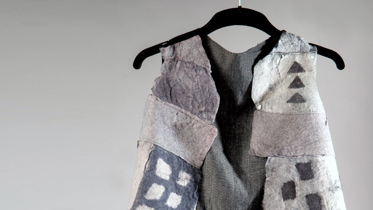 Believe It Fabric Made From Sheets Of Dryer Lint