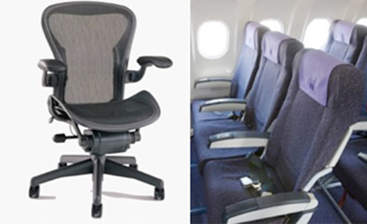 Why Arent Airplane Seats More Like the Aeron Chair