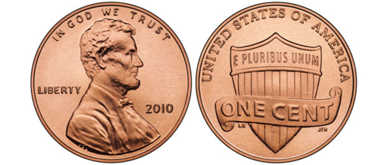 Penny war clip art