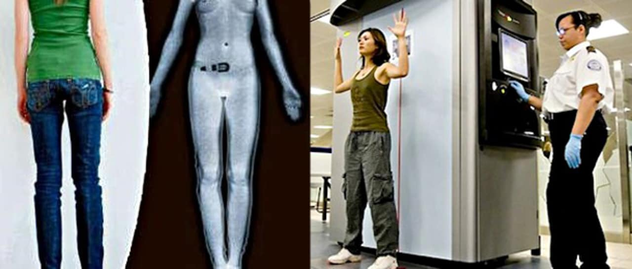 airport body scanners Tsa uses advanced imaging technology to safely screen passengers at the checkpoint advanced imaging technology uses automated target recognition software that eliminates passenger-specific images and instead auto-detects potential threats by indicating their location on a generic outline of a person.