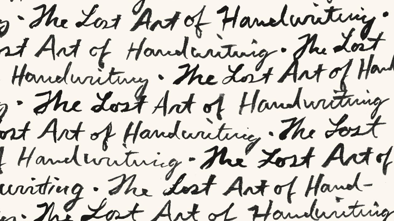 how to write fast in good handwriting