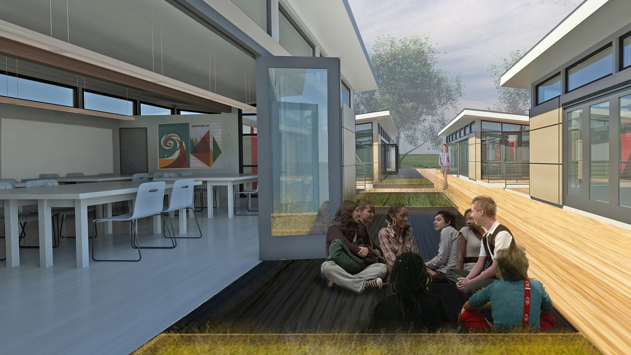 Sprout Modular Classroom ~ An eco modular classroom that helps kids learn