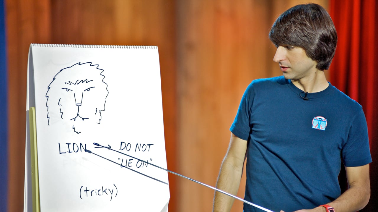 Advice For A Twitter World Demetri Martin On How To Be Succinct