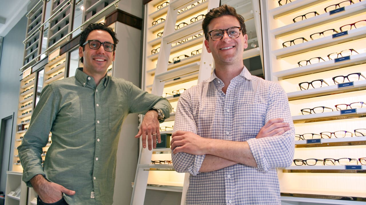 take a look inside warby parker s new nyc flagship store