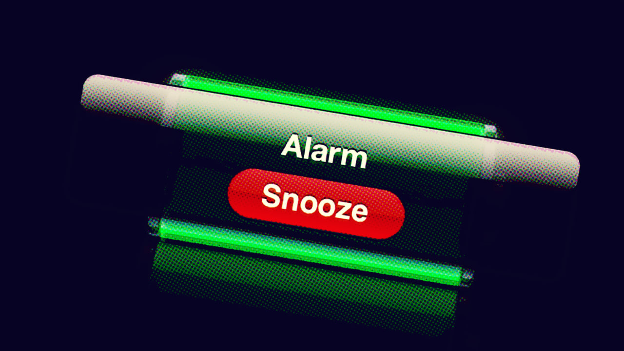That Snooze Button Habit Is Putting Your Productivity T