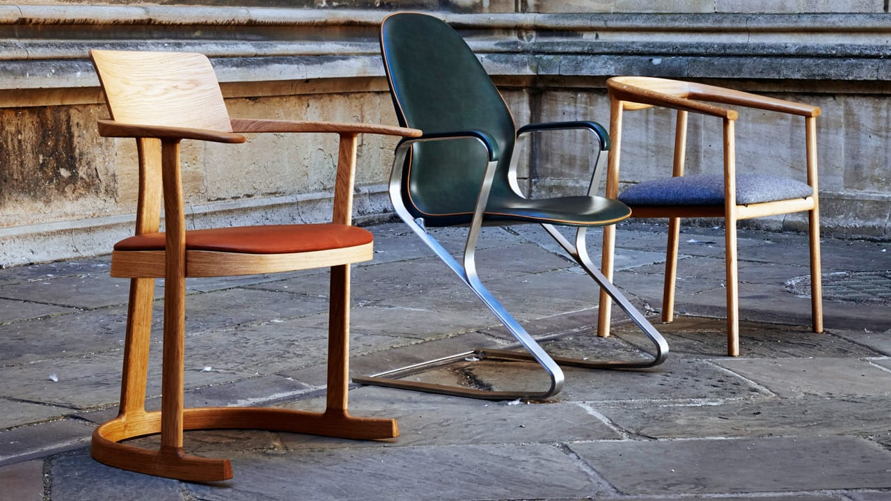 Oxford Debuts A Library Chair To Last For Centuries