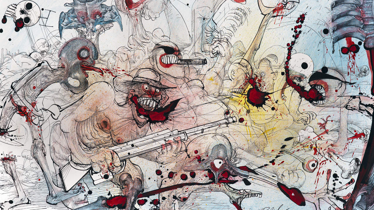 "Ralph Steadman, Gonzo Artist Behind ""Fear and Loathing ..."
