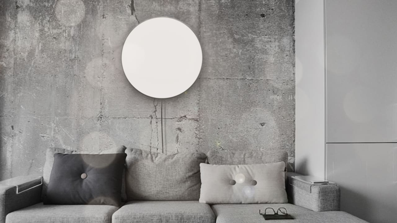 kill those winter blues with this light that mimics the. Black Bedroom Furniture Sets. Home Design Ideas
