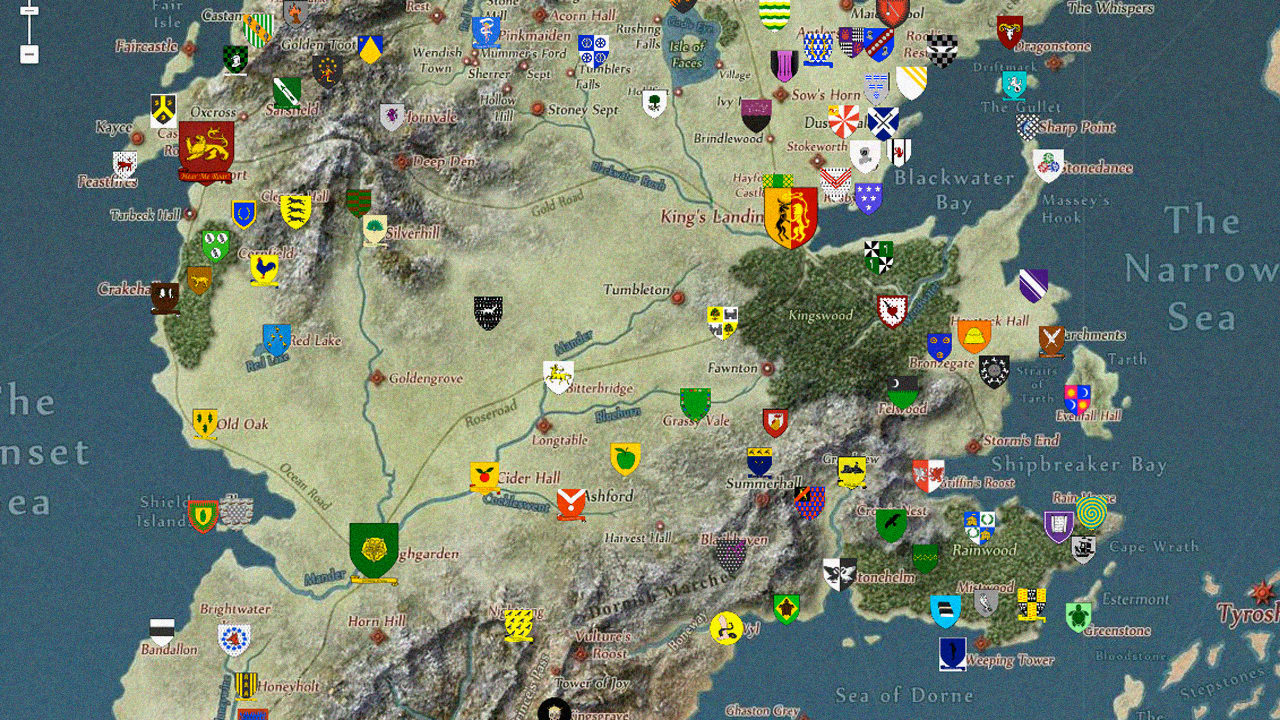 Game of thrones world map pdf game usa states map collections game of thrones world map pdf with google maps fans take on the insane geography game gumiabroncs Image collections