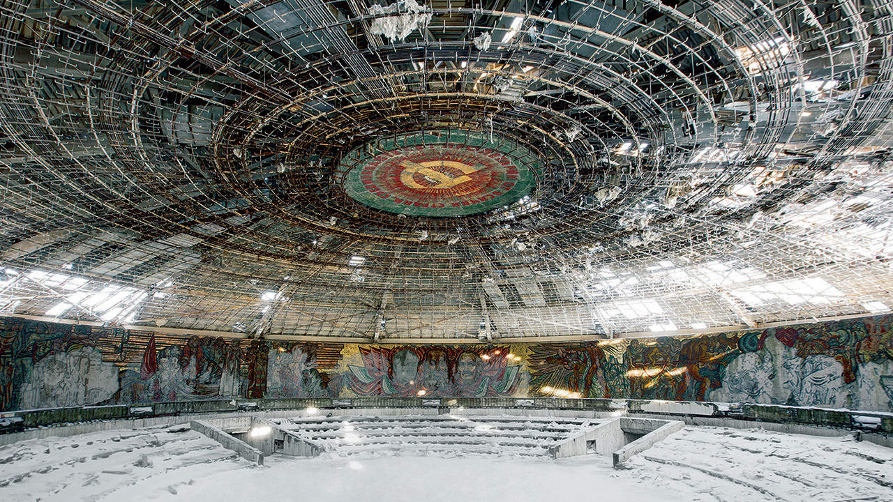 The ghostly beauty of abandoned soviet ruins for Architecture urss
