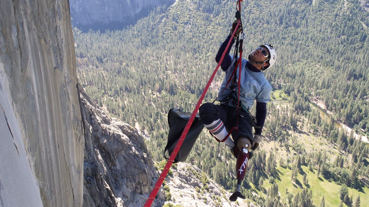 These Disabled Rock Climbers Are Way Way Stronger Than