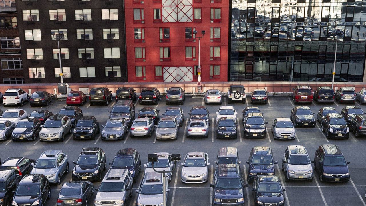 Architects re imagine new york city parking spots as new for Ny city parking garages