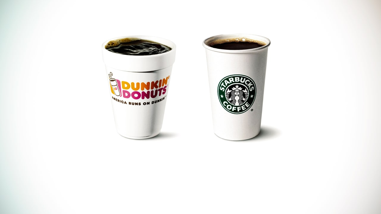 Dunkin Donuts And Starbucks A Tale Of Two Coffee