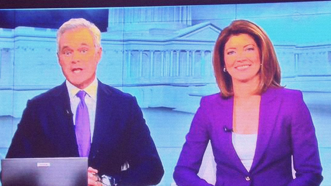 Why Newscasters Wear Purple On Election Day Where Business And Design Collide