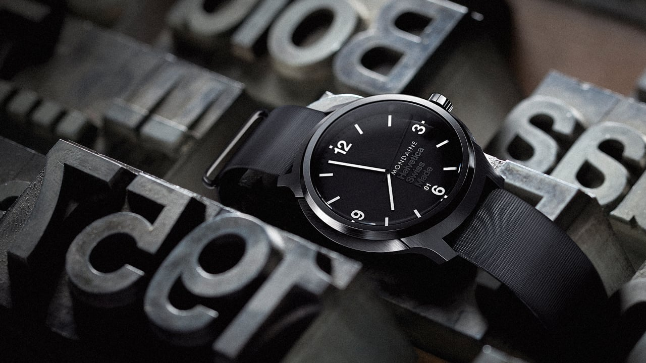 The Helvetica Watch Is A Real Thing That You Can Buy