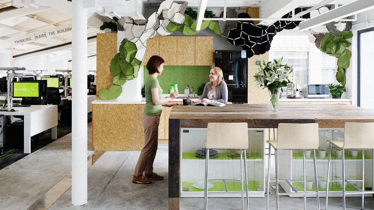 Step Inside The Greenest Office Space In Asia