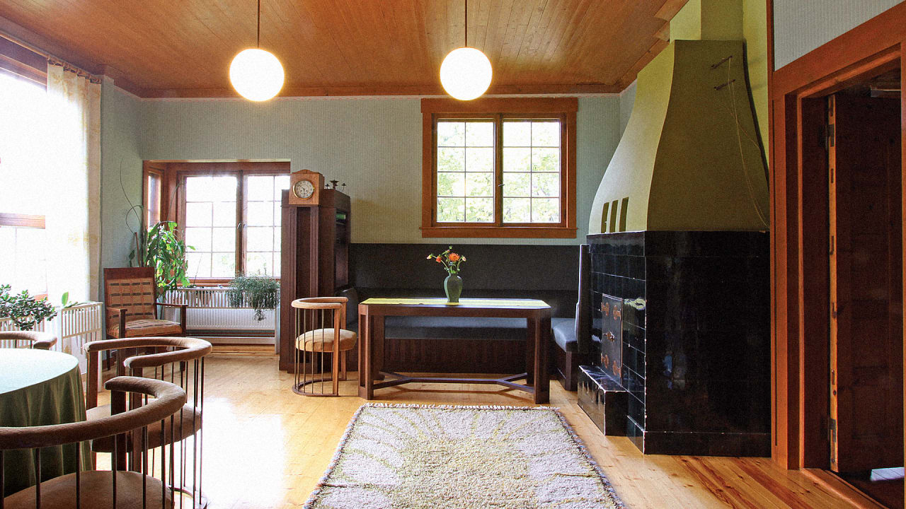 The Remarkably Intimate Houses Of Father Son Architects Eliel And Eero Saarinen