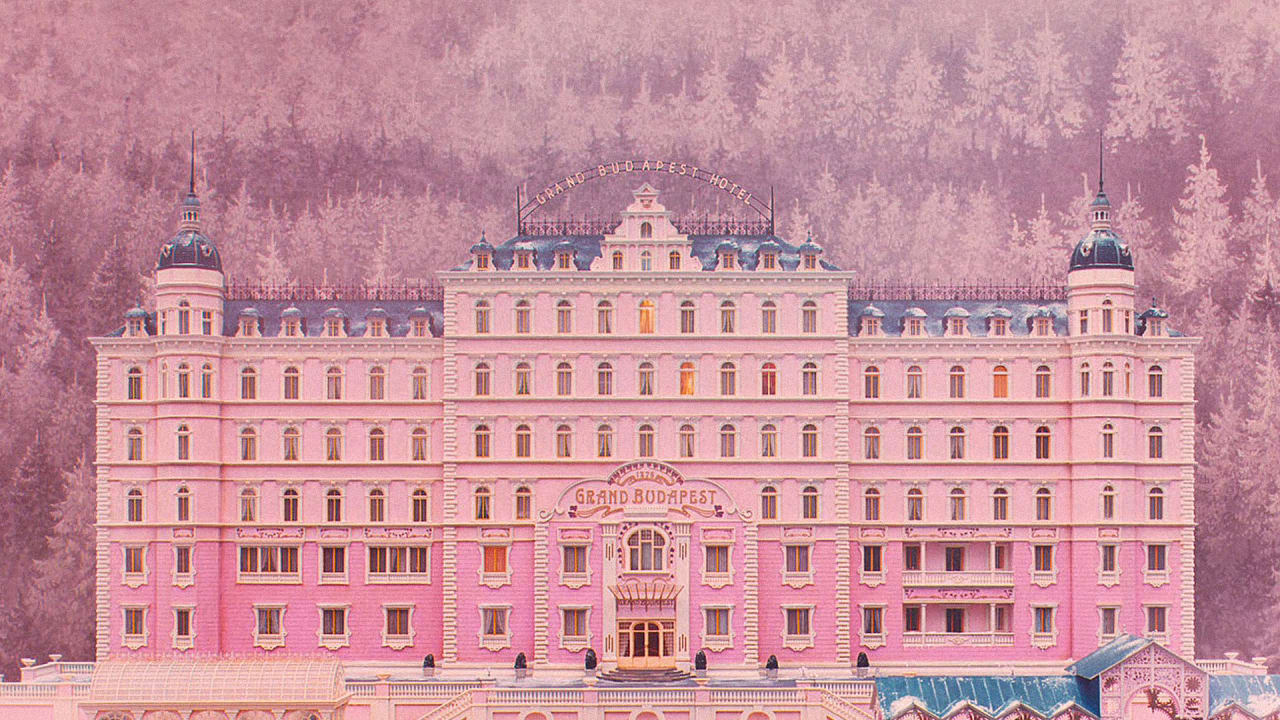 Grand Budapest Hotel Wallpaper