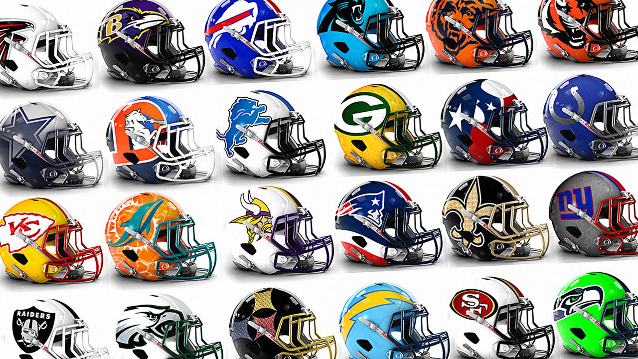 See Bold Alternate Helmet Designs For All 32 NFL Teams