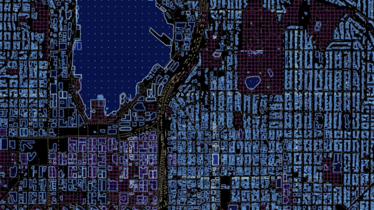 Sci Fi Maps Show What Your City Would Look Like In Tron