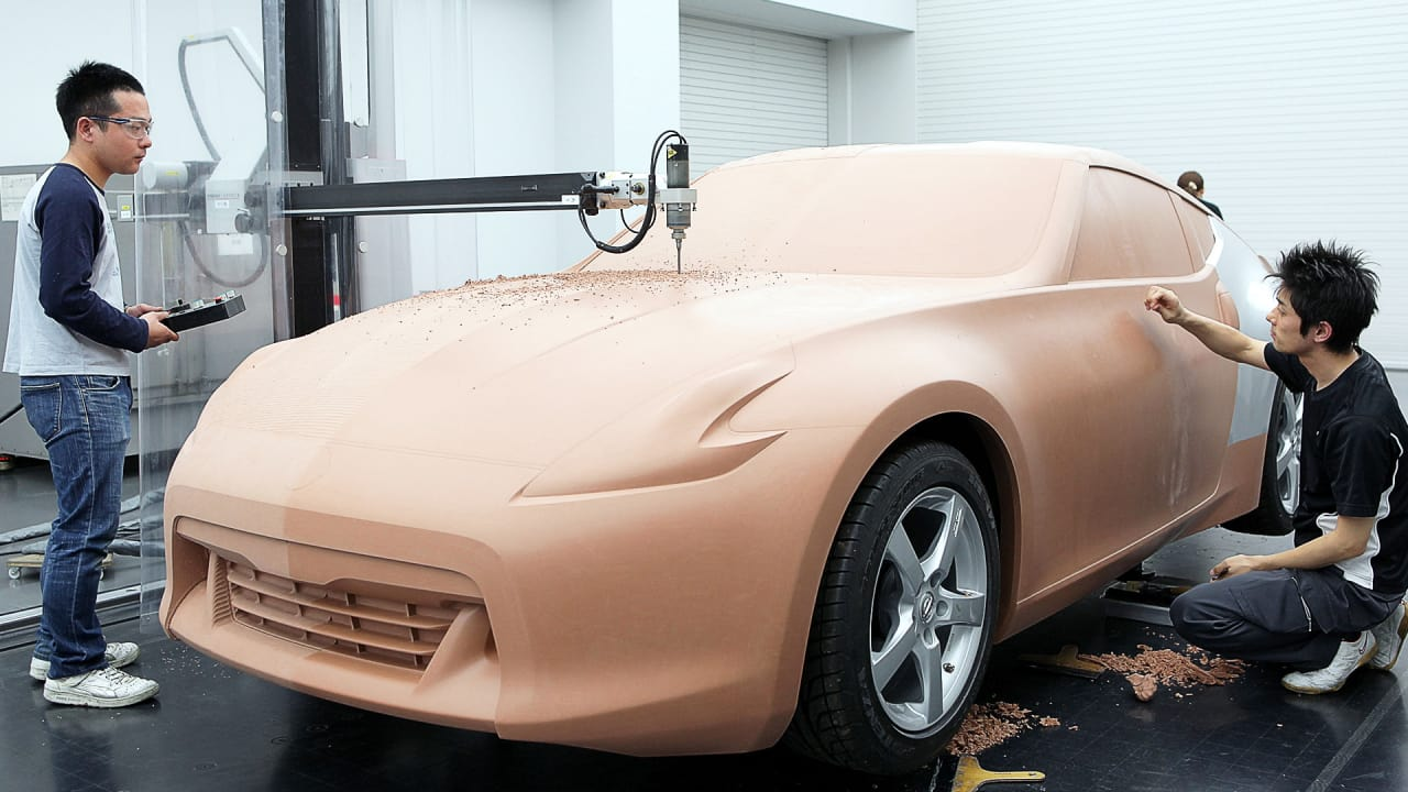 Why The Car Industry Still Builds Life Size Clay Models
