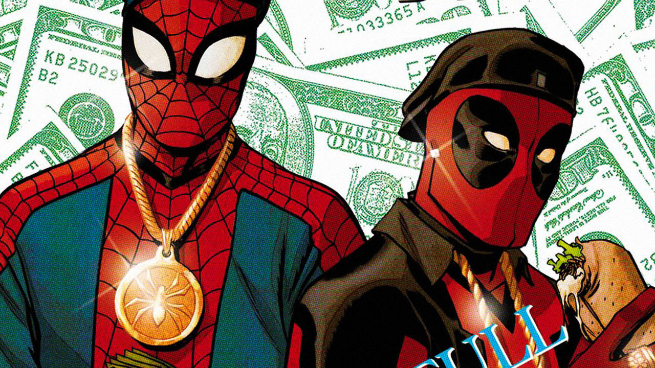 See Marvel Heroes Mashed With Classic Hip Hop Albums On