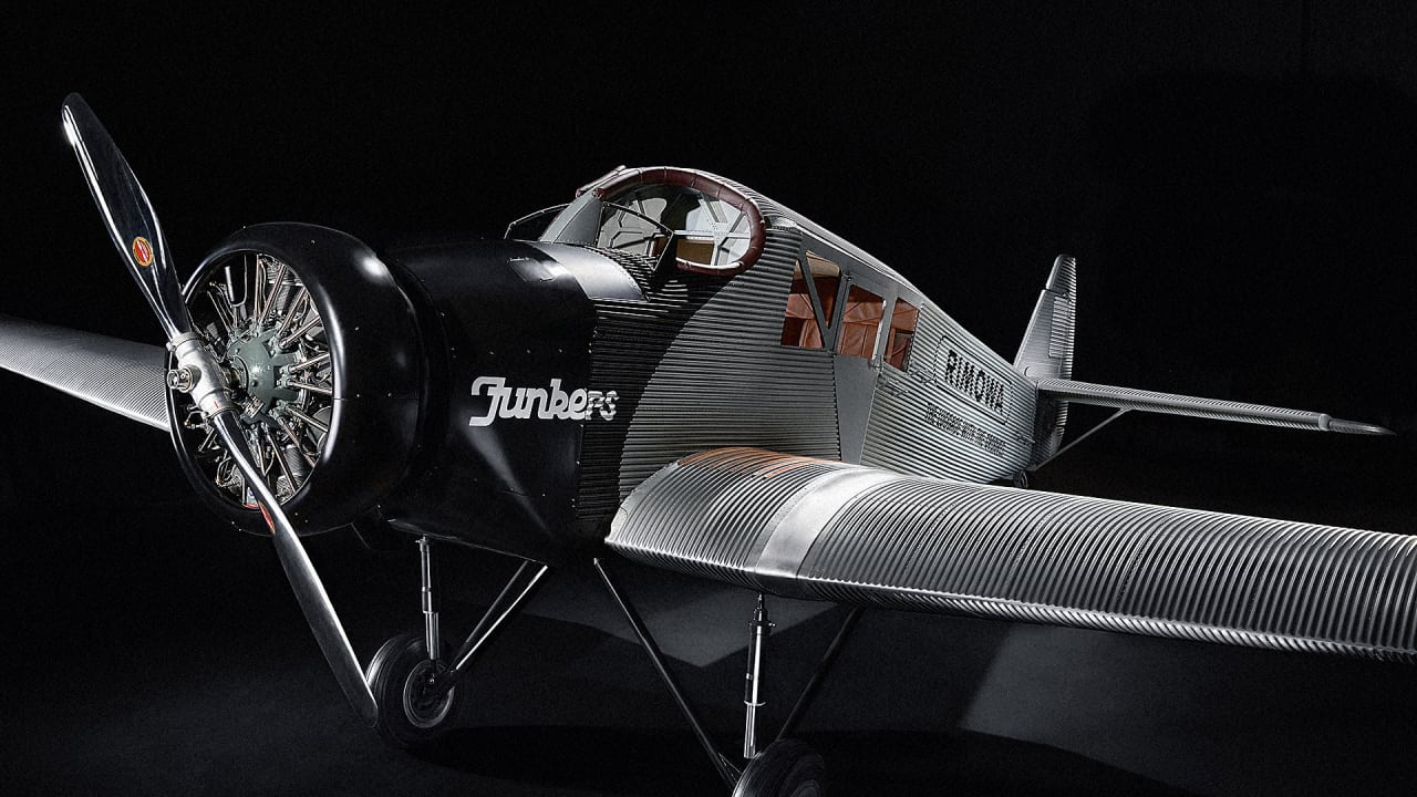 rimowa reprises an aviation classic the junkers f13 co. Black Bedroom Furniture Sets. Home Design Ideas