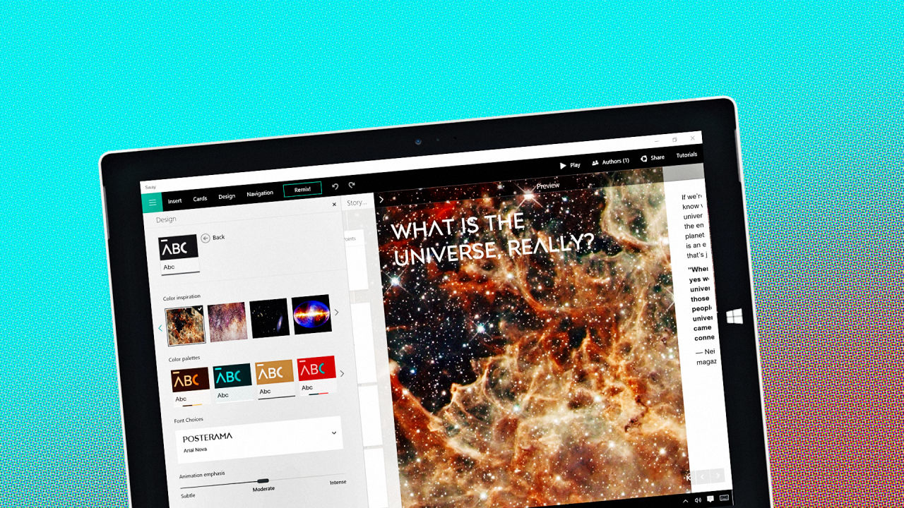 With Sway, Microsoft Reimagines Presentations For The Postpowerpoint  Generation Understanding When & How To Cite