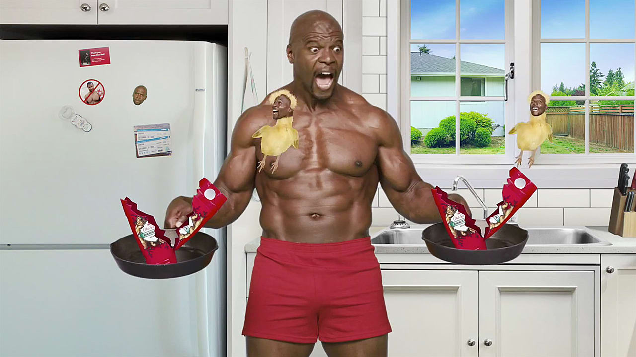 Old Spice Fight Isaiah Mustafa And Terry Crews Battle For