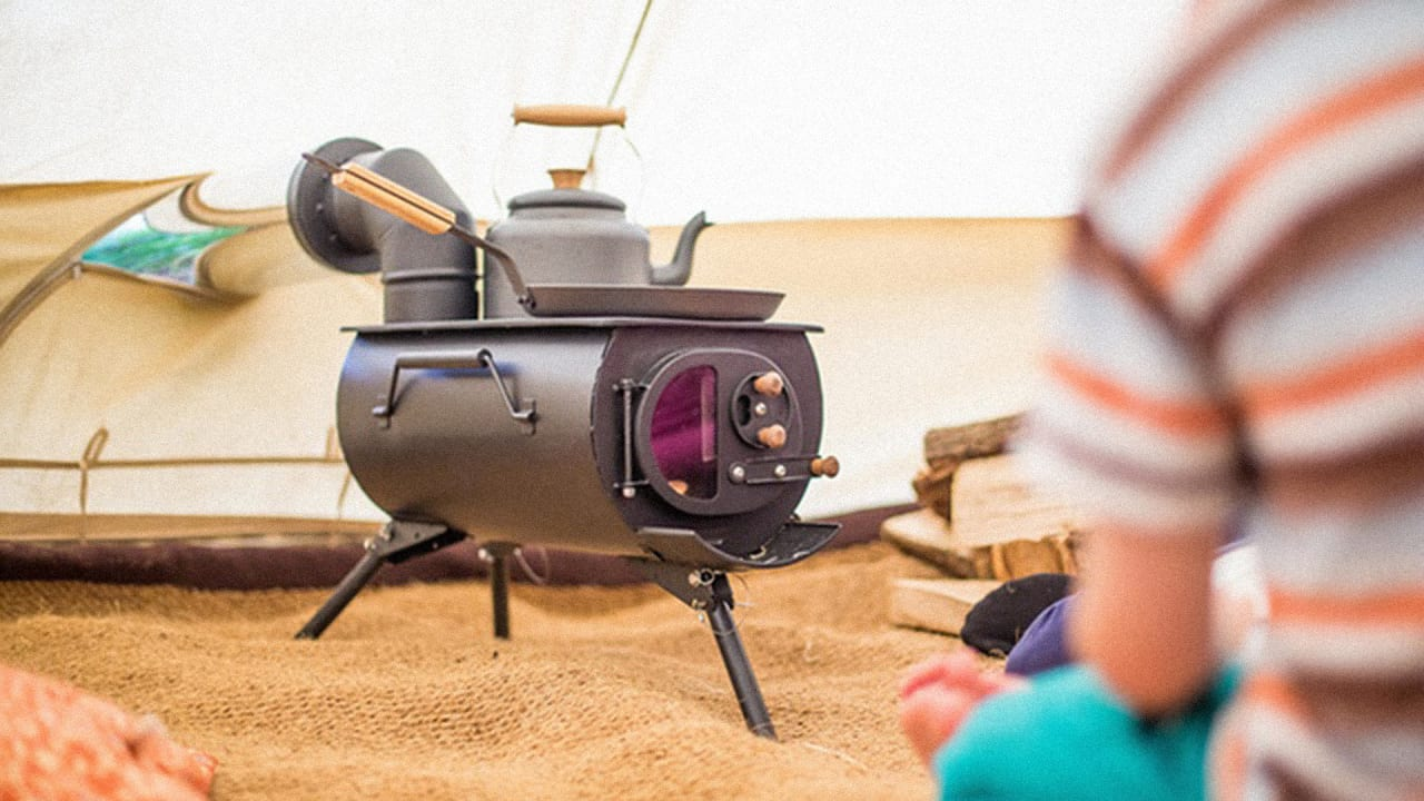 - The Ultimate Portable Woodburning Stove