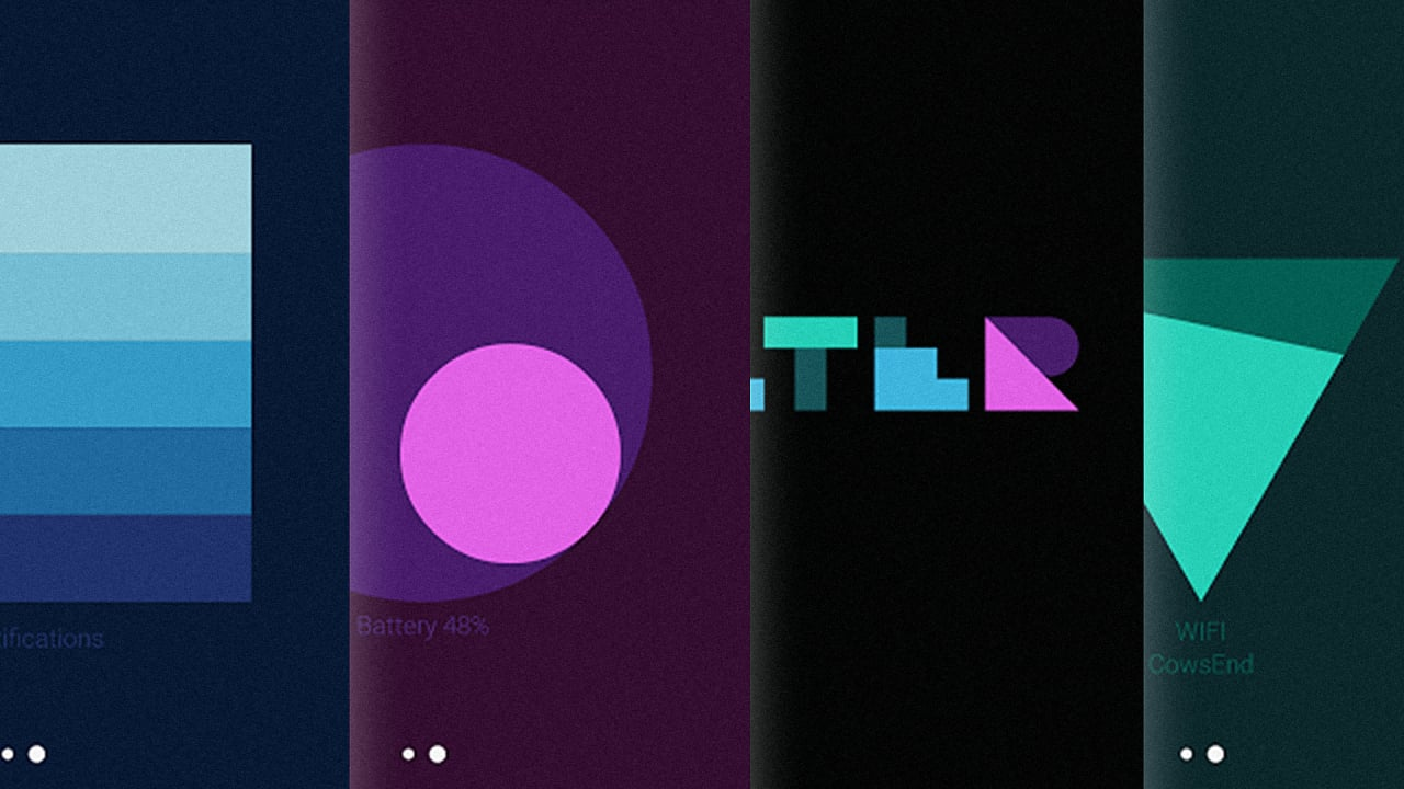 Android's New Material Design Wallpapers Visualize Data