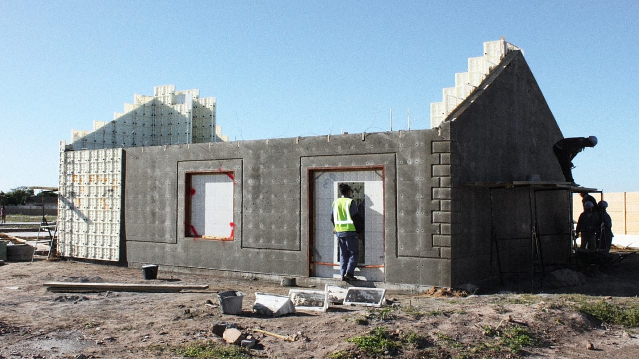 this house can be built in a day at an affordable price