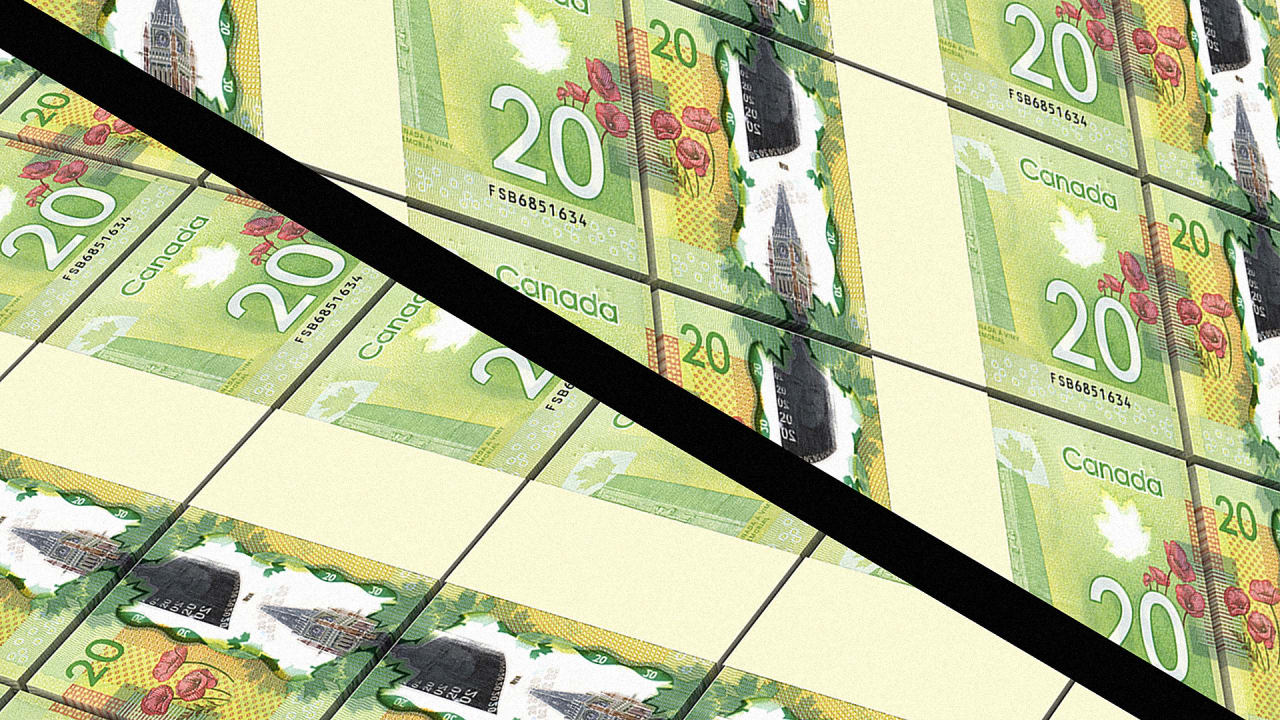Canadians Are Cutting $20 Bills In Half To Create A New, Localsonly  Currency Example Of