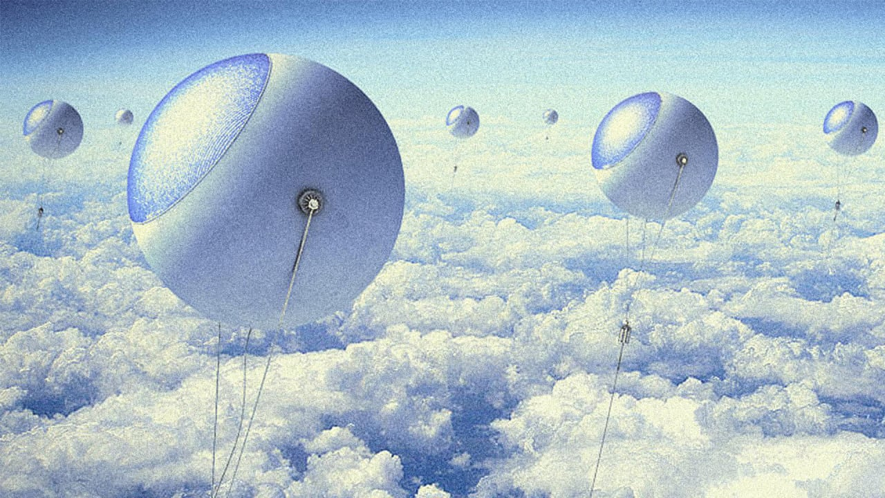 these sky high balloons could generate more power than fast company