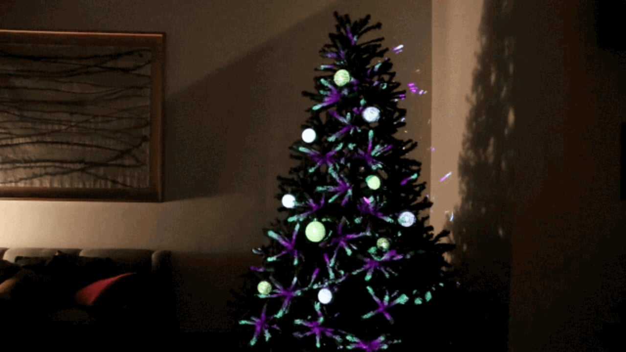 Christmas Decor Next : The next wave of tacky holiday decor projection mapped