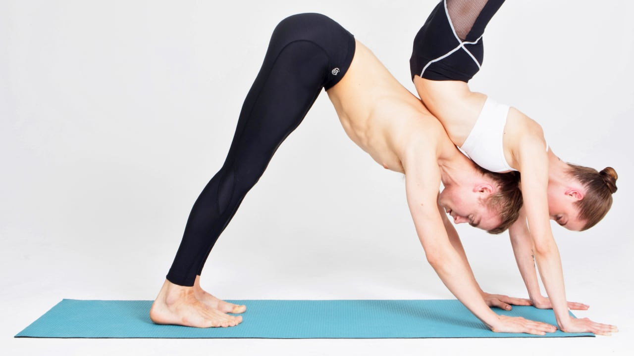 These Vibrating Yoga Pants Will Correct Your Downward Dog