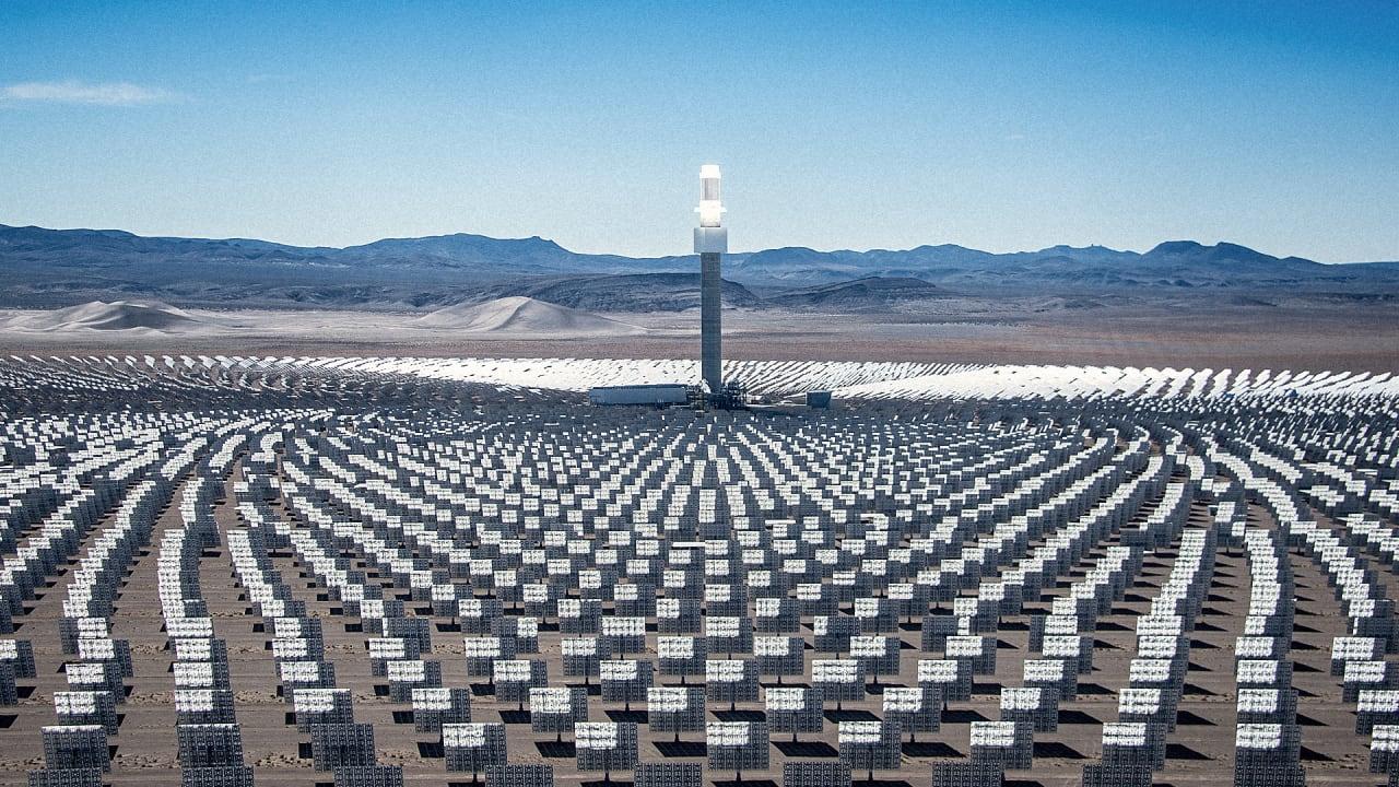 This Huge New Solar Farm Near Las Vegas Provides Power
